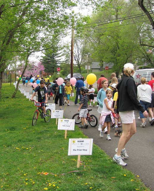 Walk & Roll for SCAMP – First Sunday in May